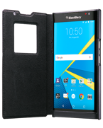 BlackBerry Leather Smart Flip Case PRIV by Blackberry (czarny)