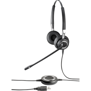 Jabra BIZ 2400 USB Duo MS 2499-823-104