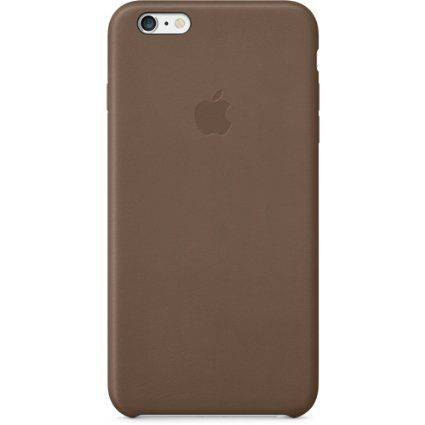 Apple MGQR2ZM/A Leather Case iPhone 6 Plus Olive Brown (brązowy)