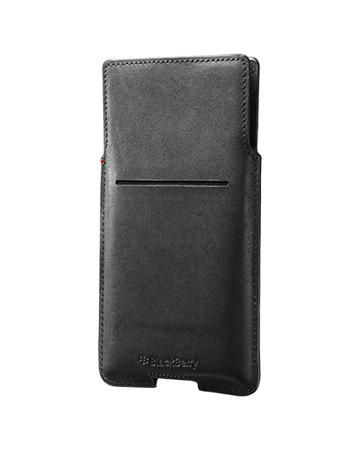 BlackBerry Leather Pocket PRIV by Blackberry (czarny)