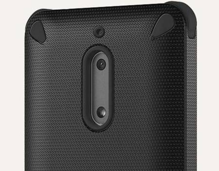 Etui Nokia CC-501 Rugged Impact Case do Nokia 6 Orange Black  (czarne+pomarańczowe)