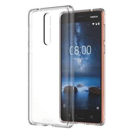 Etui Nokia CC-701 Hybrid Crystal Case do Nokia 8
