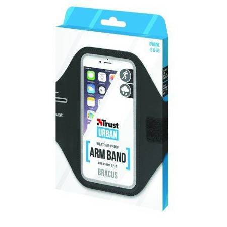 Etui na ramię TRUST Bracus Sport Arm Band do Apple iPhone 6 / 6S (czarny)