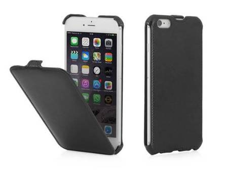 "Etui z klapką Apple iPhone 6 Plus 5,5"" - Stilgut SlimCase (czarny)"