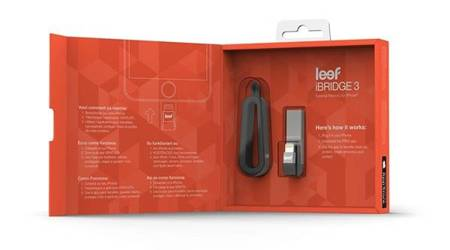 Leef iBRIDGE 3 Lightning / USB Pendrive 128 GB (Black)