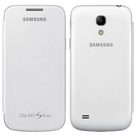 SAMSUNG EF-FI919BWEGWW Flip Cover do i9190 / i9195 Galaxy S4 mini (biały)