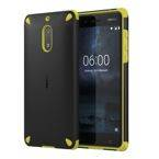 Etui Nokia CC-501 Rugged Impact Case do Nokia 6 Black Lemon (czarne+limonka)