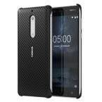 Etui Nokia CC-803Carbon Fibre Design Case do Nokia 5 Black (czarne)