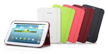 Samsung EF-BN510BWEGWW Book Cover do Galaxy Note 8.0 N5100 (biały)