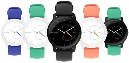 Zegarek Withings Move HR Activity Tracking Watch (czarny)